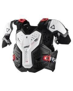 6.5 PRO CHEST PROTECTOR WHITE
