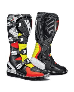 AGUEDA RED FLUO BLACK YELLOW