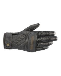 BRASS LEATHER GLOVES 10
