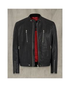 CHEETHAM LEATHER JACKET