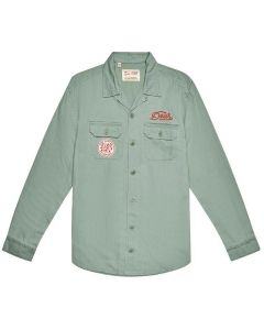 SEA SQUALOR SHIRT ARMY GREEN