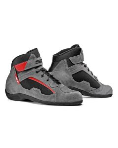DUNA SHOES GREY RED
