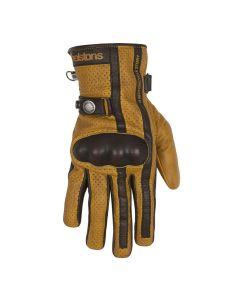 EAGLE GLOVES GOLD BLACK