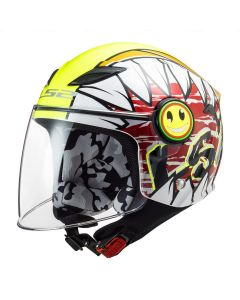 FUNNY CRUNCH WHITE YELLOW FLUO OF602