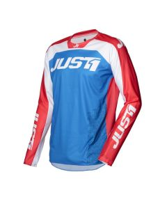 J-FORCE TERRA JERSEY BLUE RED WHITE