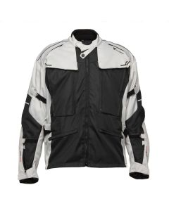 MANDO JKT BLACK LIGHT GREY