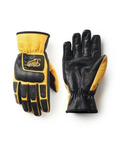 MOTO X GLOVES BLACK YELLOW