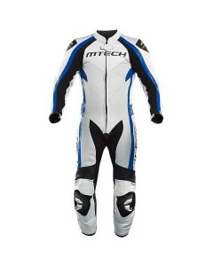 MT1 RACING WHITE BLUE