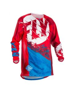 KINETIC OUTLAW JERSEY RED BLUE