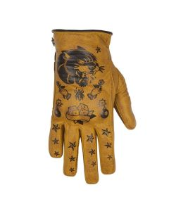 PANTHER LADY GLOVES GOLD