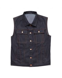 RAW DENIM VEST JEANS JDW3003