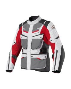 SCOUT 2 WP LADY JKT GRIGIO ROSSO