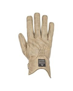 SWALLOW GLOVES BEIGE BLACK