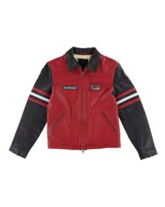 THE RACER JACKET CHILLI RED