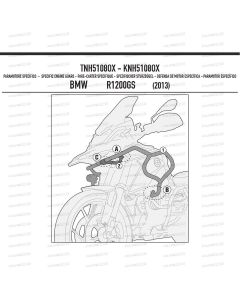 TNH 5108 OX paramotore BMW GS 1200