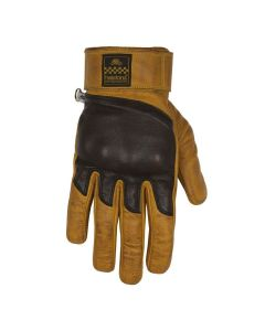 WOLF GLOVES GOLD BLACK